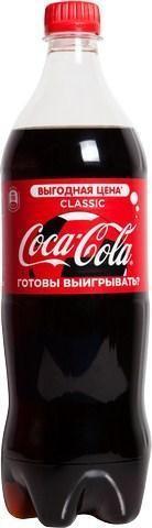 Кока-кола 1 л